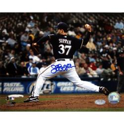 Milwaukee Brewers Jeff Suppan Autographed Photo