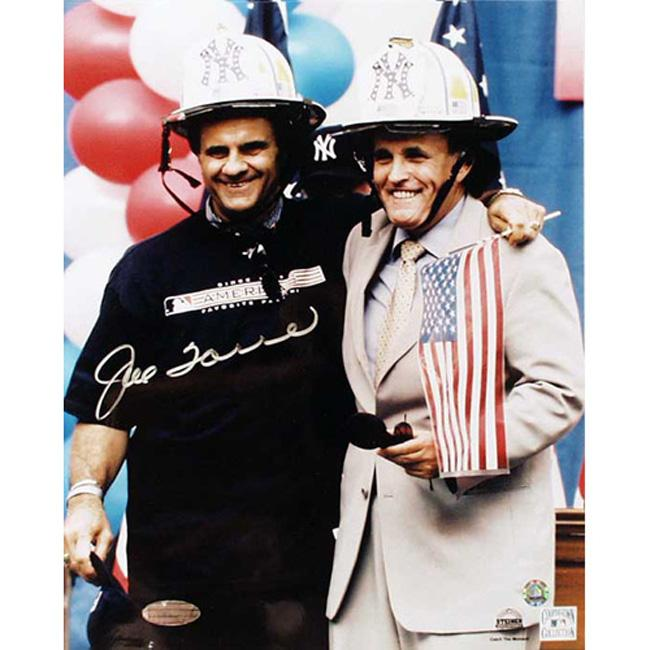 Hand-Signed Steiner Sports Joe Torre Autographed Photo
