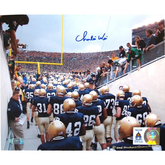 Steiner Sports Charlie Weis Autographed Photo