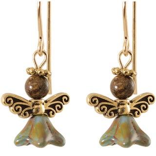 Gold Fill 'Jubilantly Bronze' Angel Earrings
