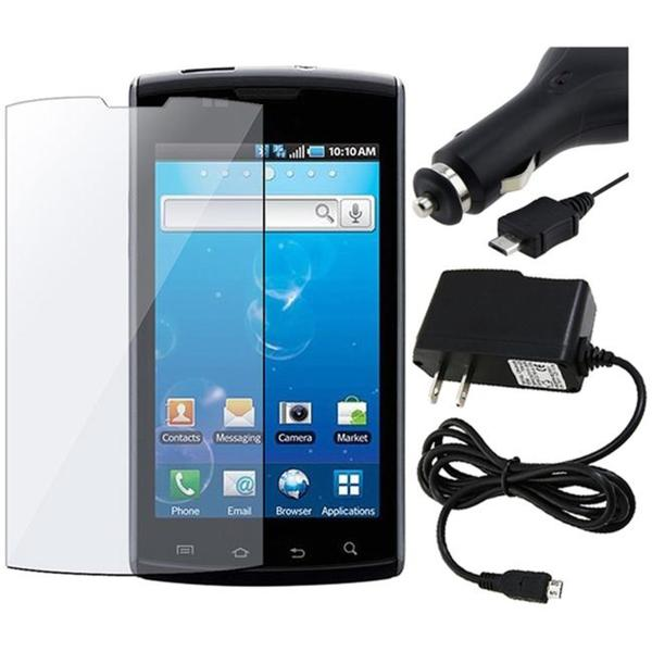 INSTEN 3-piece Combo Kit for Samsung i897 Captivate