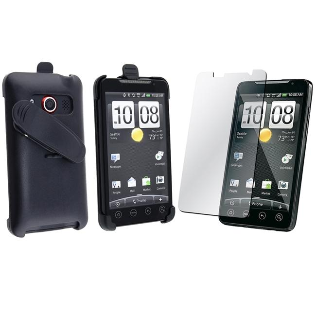 Swivel Holster/ Screen Protector for HTC EVO 4G