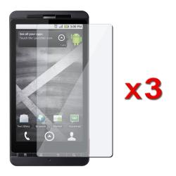 INSTEN Clear Screen Protector for Motorola Droid X MB810 (Pack of 3)