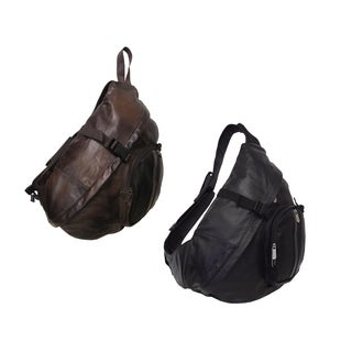 Amerileather Leather Body Sling Bag