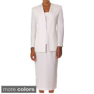 Divine Apparel Women's Classic 3-piece Skirt Suit (As Is Item)|https://ak1.ostkcdn.com/images/products/5498028/Divine-Apparel-Womens-Classic-3-piece-Skirt-Suit-P13281922s.jpg?impolicy=medium