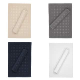 Authentic Hotel and Spa Turkish Cotton Bath Mat  Set of 2. Bath Rugs   Bath Mats For Less   Overstock com