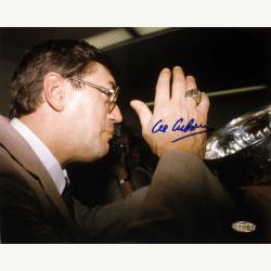 New York Islanders Al Arbour Autographed Photo