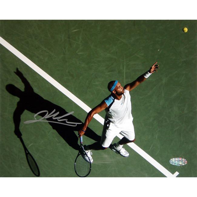 Steiner Sports James Blake Autographed Tennis Photo