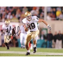 Notre Dame John Carlson Autographed Photo
