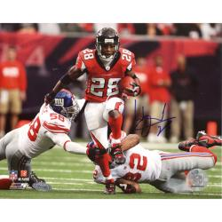 Atlanta Falcons Warrick Dunn Autographed Photo