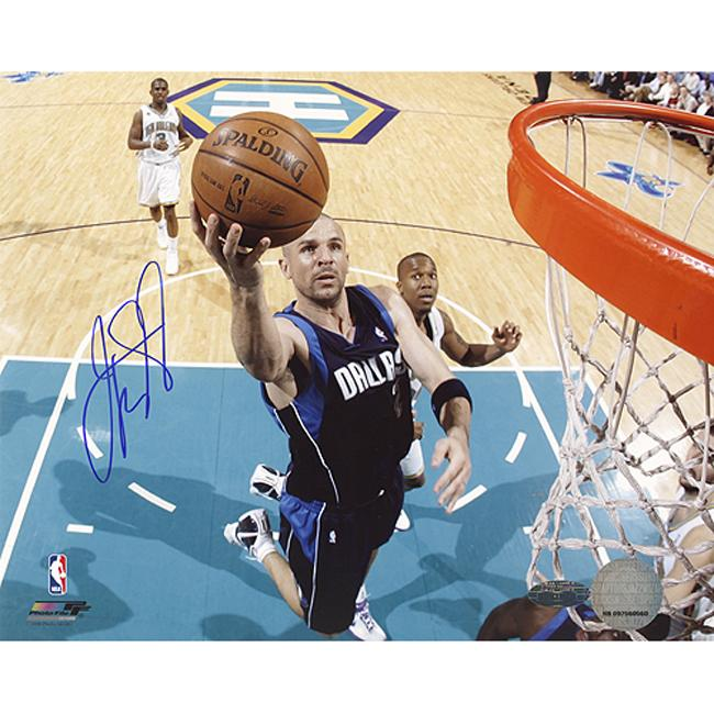 Steiner Sports Jason Kidd Lay-Up Autographed Photo