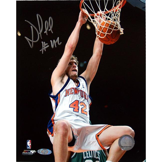 Steiner Sports David Lee Autographed Basketball Photo