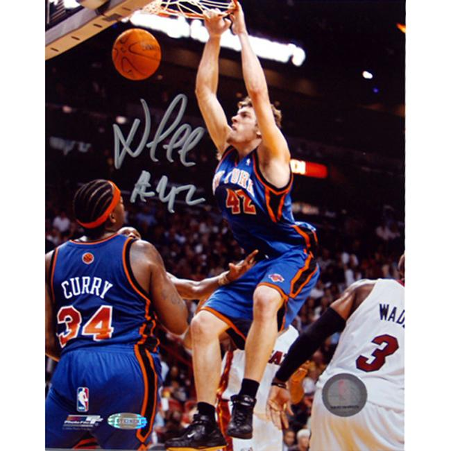 Steiner Sports David Lee Autographed Photo