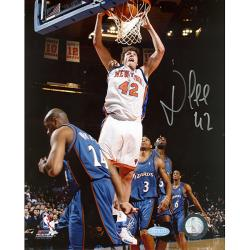 New York Knicks David Lee Autographed Photo