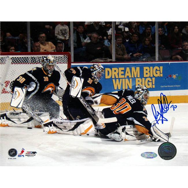 Steiner Sports Official Ryan Miller Autographed Photo