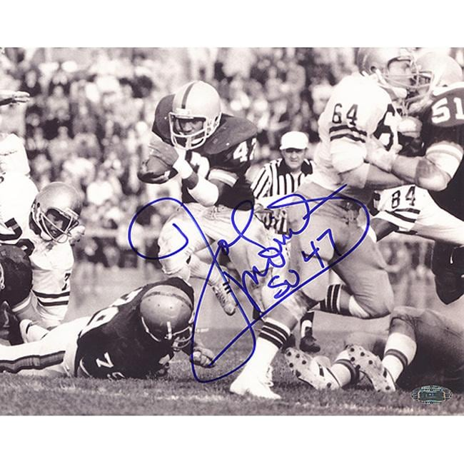 Syracuse University Joe Morris B/W Autographed Photo