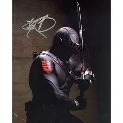 GI Joe 'Snake Eyes' Actor Ray Park Autographed Photo