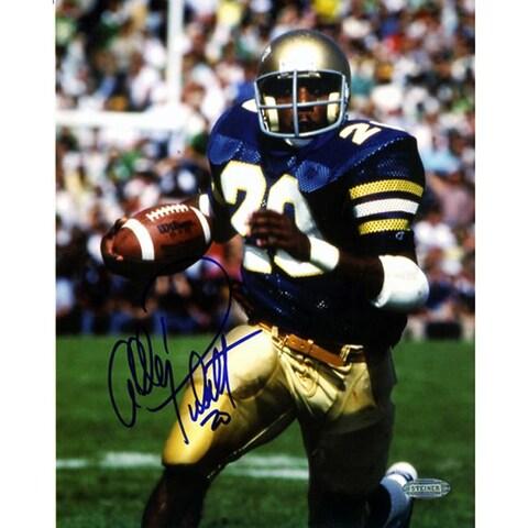 Notre Dame Allen Pinkett Autographed Photo