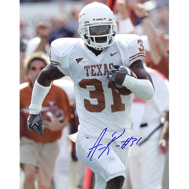 Texas Longhorns Aaron Ross Autographed Photo