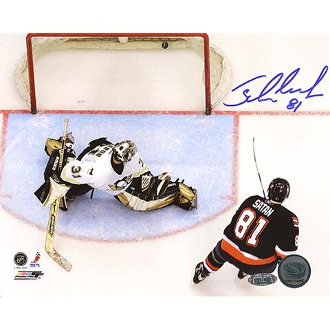 New York Islanders Miroslav Satan Autographed Photo