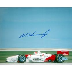 Steiner Sports Authentic Al Unser Jr. Autographed Photo