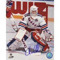 New York Rangers Goalie John Vanbiesbrouck Autographed Photo