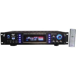 PylePro P3201ATU 3000 Watt AM/FM Tuner/ USB Hybrid Pre-Amplifier
