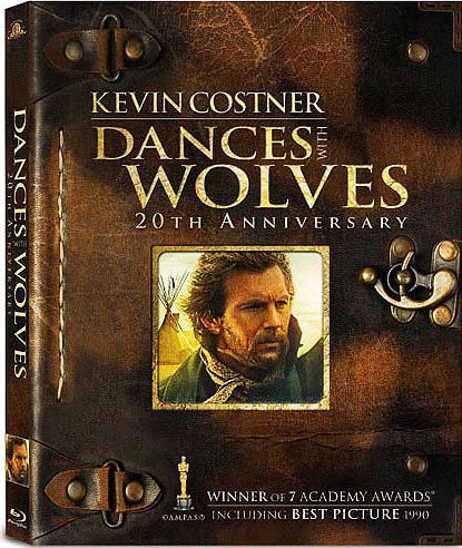 Dances With Wolves 20th Anniversary Extended Cut (Blu-ray Disc)