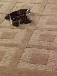 M.A.Trading Hand-knotted Marmara Beige Geometric Wool Rug (6'6 x 9'9)