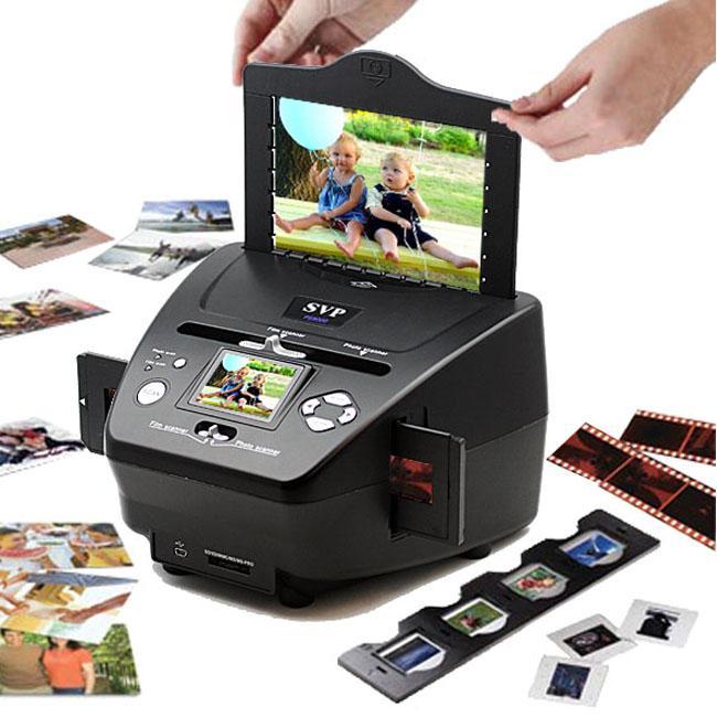 SVP PS-9700 3-IN-1 Digital Photo/ Slide/ Film Scanner