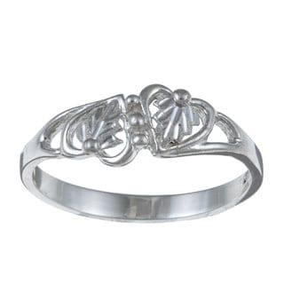 Black Hills Silver Dual Heart Ring
