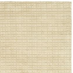 Safavieh Handmade Himalaya Beige Grid Wool Area Rug (5' x 8') - Thumbnail 1