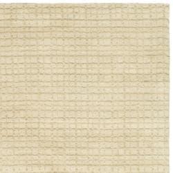 Safavieh Handmade Himalaya Beige Grid Wool Area Rug (8' x 10')
