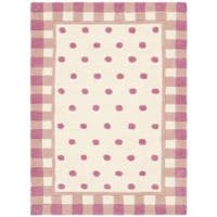 Safavieh Handmade Novelty Pink Wool Rug - 2' x 3'