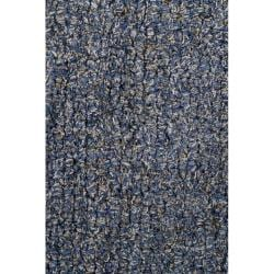 Artist's Loom Hand-tufted Contemporary Abstract Wool Rug (6'x9') - Thumbnail 2