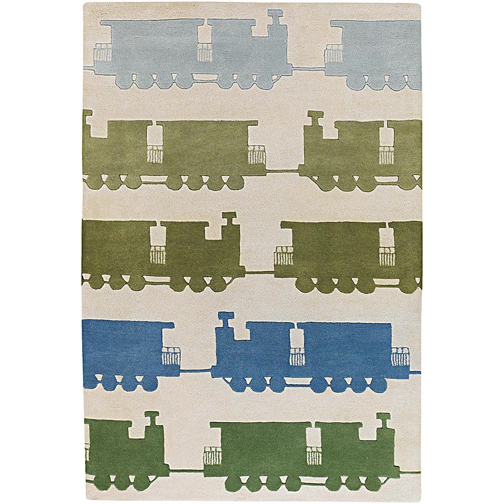Artist's Loom Hand-tufted Kids Geometric Wool Rug (7'9x10'6)
