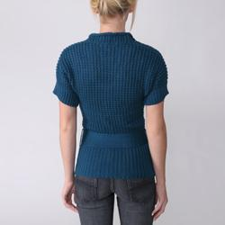 Ci Sono by Adi Juniors Belted Tunic Sweater