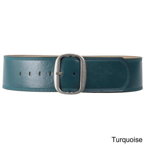 Journee Collection Women's Bonded Leather Belt