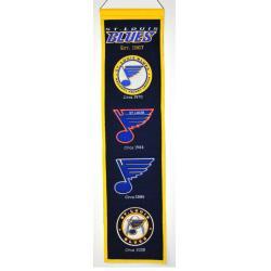 St. Louis Blues Wool Heritage Banner