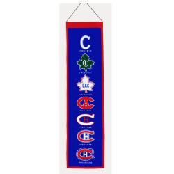 Montreal Canadiens Wool Heritage Banner