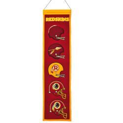 Washington Redskins Wool Heritage Banner