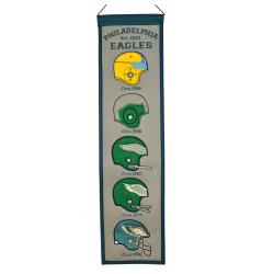 Philadelphia Eagles Wool Heritage Banner