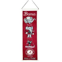 Alabama Crimson Tide Wool Heritage Banner - Thumbnail 1