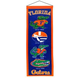 Florida Gators Wool Heritage Banner