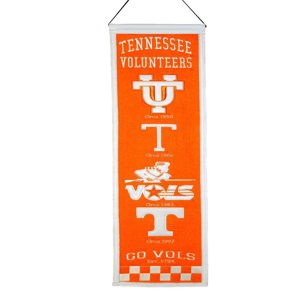 Tennessee Volunteers Wool Heritage Banner