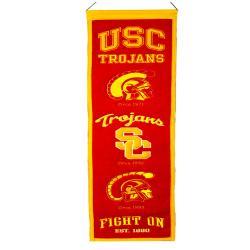USC Trojans Wool Heritage Banner - Thumbnail 2