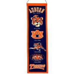 Auburn Tigers Wool Heritage Banner - Thumbnail 1