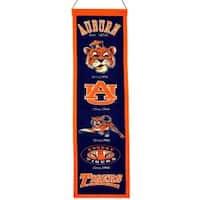 Auburn Tigers Wool Heritage Banner