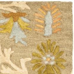 Safavieh Handmade Moroccan Cambridge Paradise Moss Green Wool Rug (2' x 3')