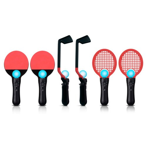 PlayStation Move 6-In-1 Competition Sports Pack